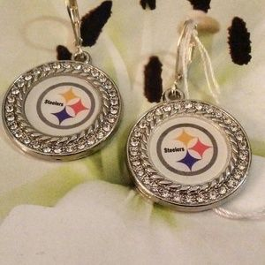 Steelers Pierced Earrings